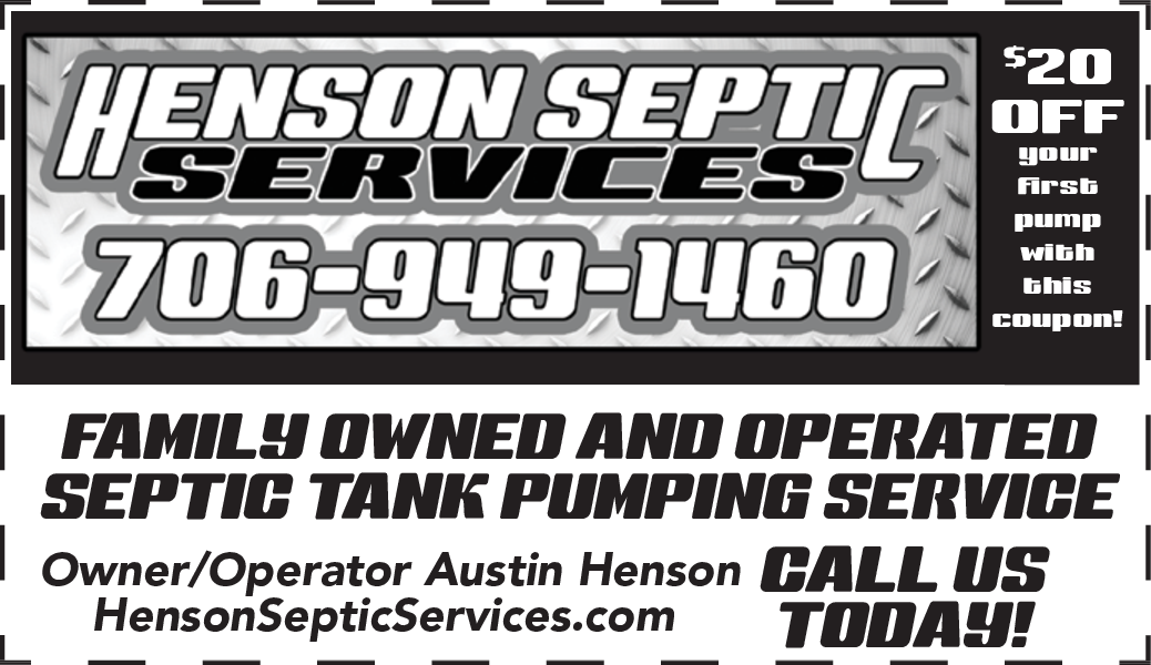 Family Owned Septic Service in Demorest, GA, Trash Services