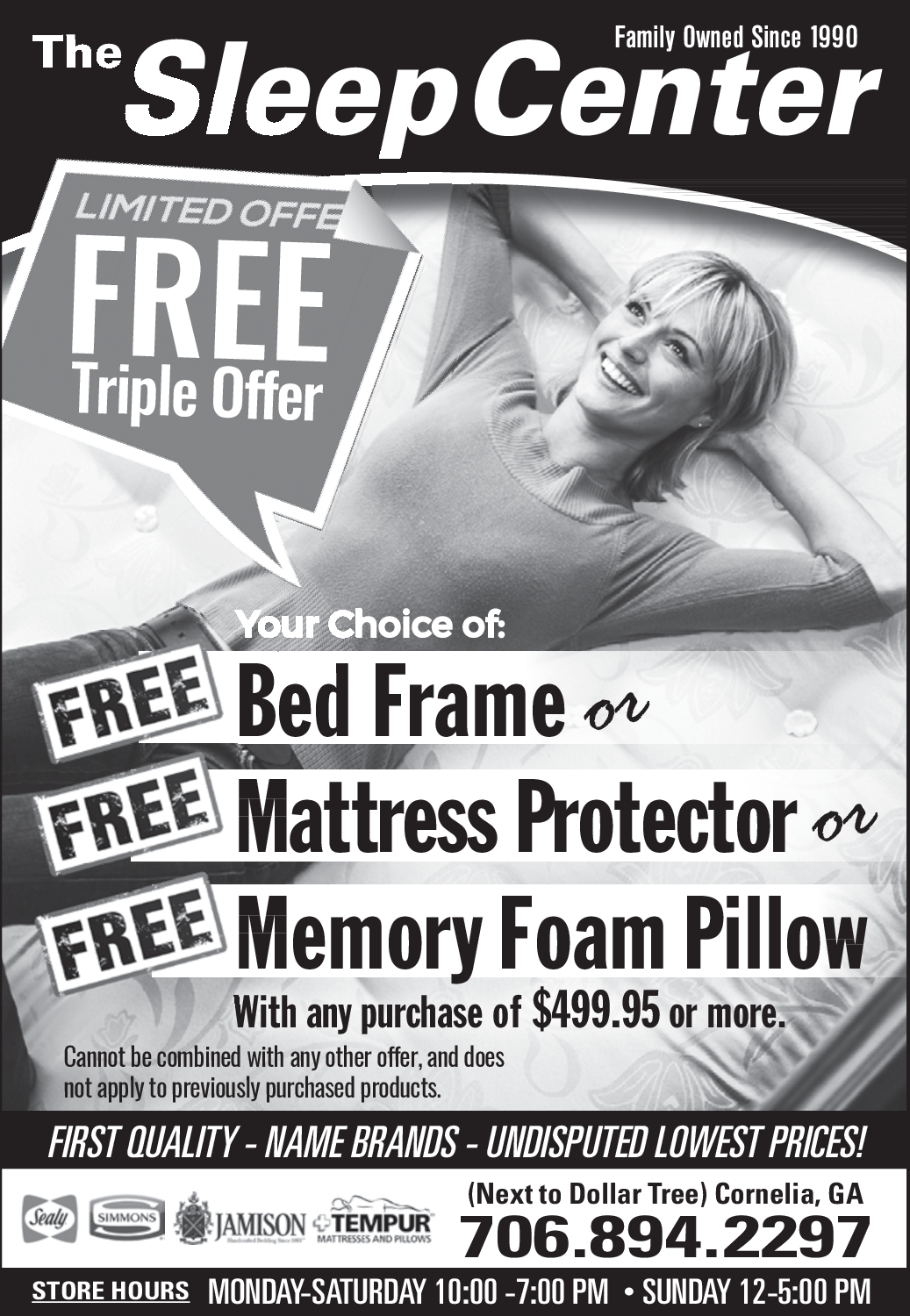 Bed Frame,Mattress Protector and Memory Foam Pillow by The Sleep ...